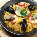 料理メニュー写真海のパエリア