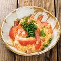 料理メニュー写真トマトチャンプルー