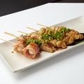 料理メニュー写真串焼き盛り合わせ (5本)(塩ORたれ)