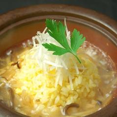 料理メニュー写真フカヒレスープかけ炒め飯