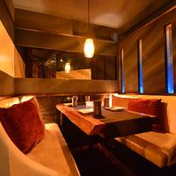 ◆しっとり大人の個室空間◆デザイナー美空間