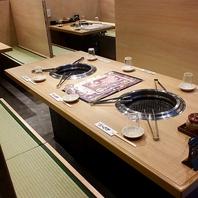 無煙ロースターテーブル席