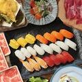 料理メニュー写真熟成牛しゃぶと上寿司 120分食べ放題コース