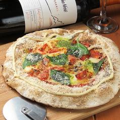 料理メニュー写真三次モッツァレラを使ったマルゲリータ