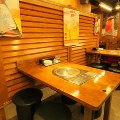 1~4名のテーブル席