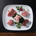 料理メニュー写真本日の宮城県産仙台牛上物5種盛り合わせ