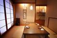 茶室をイメージした落ち着いた個室