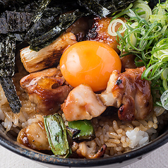 料理メニュー写真やきとり丼/雑炊(鶏、チャンジャ、梅、明太子)/焼きそば