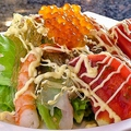 料理メニュー写真魚浜海鮮サラダ