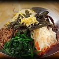 料理メニュー写真ビビンバ(スープ付)