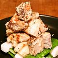 料理メニュー写真炙り鰹の香醸山葵醤油