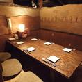 2~6名様の掘りごたつ式個室テーブル