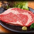 料理メニュー写真網焼ステーキ