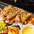 料理メニュー写真【鶏】チキンステーキ 200g