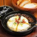 料理メニュー写真カマンベールチーズアヒージョ
