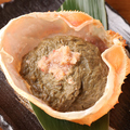 料理メニュー写真蟹みそ甲羅