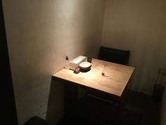2名様 個室のテーブル席 1席限定 ご予約はお早めに