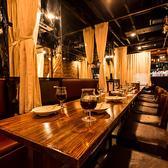 40~80名様で、店内貸切可能◎ソファ席、テーブル席となります♪落ち着いた雰囲気のゆったり寛ぎ個室空間♪宴会飲み会や女子会や合コン、誕生日・記念日などに最適のオシャレなお店!