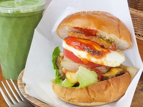 有機野菜とオーガニック、国産品を使った安心できる料理を、ホッとする空間で楽しむ♪