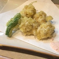 料理メニュー写真白子の天ぷら