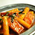 料理メニュー写真トッポギの甘辛ソース