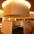 【BOX席◆2~4名様まで】プライベート感のあるドーム型のお席は女子会・デートに。喫煙も可能です。