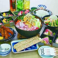 ちゃんこ江戸沢 相撲茶屋 小松店のコース写真