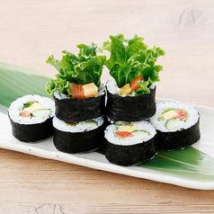 サーモンのサラダ寿司