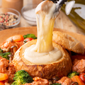 料理メニュー写真とろ~りチーズのパネチキン