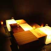 大人気!1部屋限定の間接照明がステキな個室