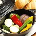 料理メニュー写真〈追加トッピング〉農家直送 ココット蒸し野菜