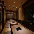 最大30名様までご利用可能!新大阪駅から徒歩5分以内の好立地◎出張のお客様にもおすすめです。落ち着いた雰囲気の店内は各種宴会、少人数での飲み会にご利用ください。飲み放題付き宴会コース4,300円~各種ご用意。忘年会のご予約受付中!
