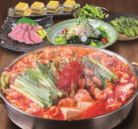 選べる鍋コース【3時間】3500円(税別)