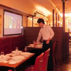 お料理はすべてテーブルにて1人1皿のサービス♪ブライダル経験も豊富なスタッフがしっかりサービスします!
