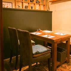 2~11名様のテーブル席
