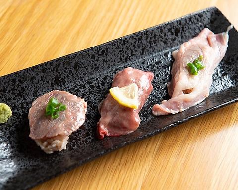 【90分飲み放題付】肉寿司コース 全6品 4000円