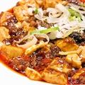 料理メニュー写真激辛麻婆豆腐