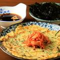 料理メニュー写真韓国風チヂミ