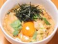 料理メニュー写真新潟地鶏と卵の究極親子丼
