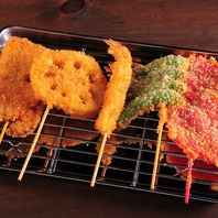 1本90円~の美味しい串カツが新潟駅で味わえる!