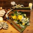【大切な方へのプレゼント♪】花束代行サービス(1束3,500円 or 5,000円)感謝の気持ちを形にしませんか♪当店にてご用意致します。※写真はイメージです