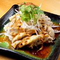 料理メニュー写真石垣島ラー油のヨダレ鶏