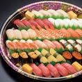 ◆豊富なテイクアウト◆徳兵衛のお持ち帰り寿司は充実したメニュー内容で、1人前から5人前まで幅広くご用意しております!