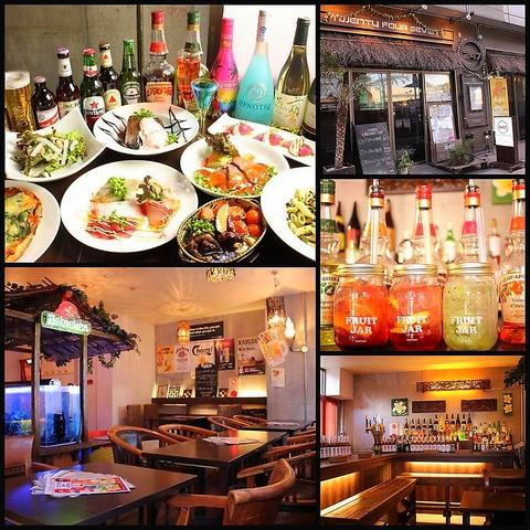 金沢文庫☆南国ムード漂う店内でリーズナブルに美味しい料理とお酒を楽しめるお店♪