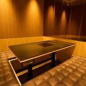 座敷スタイルの個室