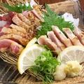 料理メニュー写真薩摩地鶏刺し