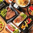 【大人の隠れ家的ビストロバル】自家製ローストビーフや、1ポンドのTボーンステーキなど豊富な肉料理が楽しめます!気軽にご来店くださ♪