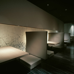 【掘りごたつ席◆2~4名様】奥まったお席で人の目を気にしないお席で大人デートを