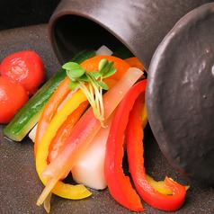 和野菜とトマトのピクルス
