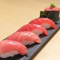 職人が握る本格寿司。ネタの種類も豊富な隠れ家的鮨屋◎